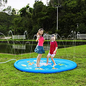 CPSYUB Sprinkler & Splash Play Mat