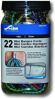 S-Line XB210-22P Mini Bungee Cords 10-Inch, 22-Piece Jar