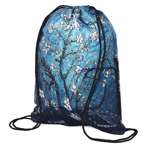 64ff3e38979 Waterproof Drawstring Bag Sport Gym Runner Knapsack Lightweight Sackpack  Backpack for Girl and Women