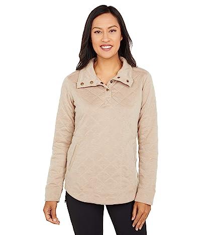 Marmot Roice Long Sleeve Pullover (Sea Salt Heather) Women