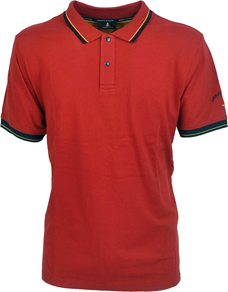 Armata di mare polo , maglietta per uomo a maniche corte , in cotone al 100 % 5352943A