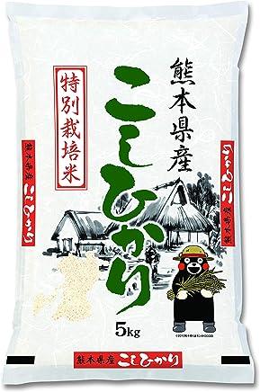 九州食糧 特別栽培米 こしひかり 白米 熊本県産 平成30年産 5kg