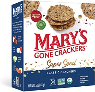 Mary's Gone Crackers Organic Super Seed Classic Crackers 156g