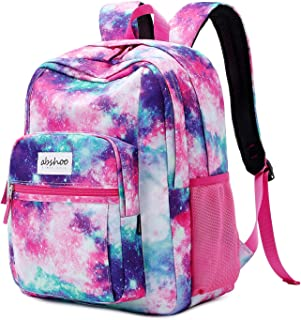 Classical Basic Travel Backpack For School Water Resistant Bookbag