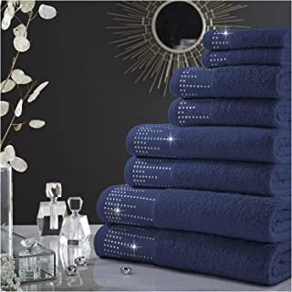 GC GAVENO CAVAILIA Luxury 100% Combed Cotton Bath Sheets Set, Ultra Soft and Highly Absorbent Bathroom Towels, 2Pk Abingto...