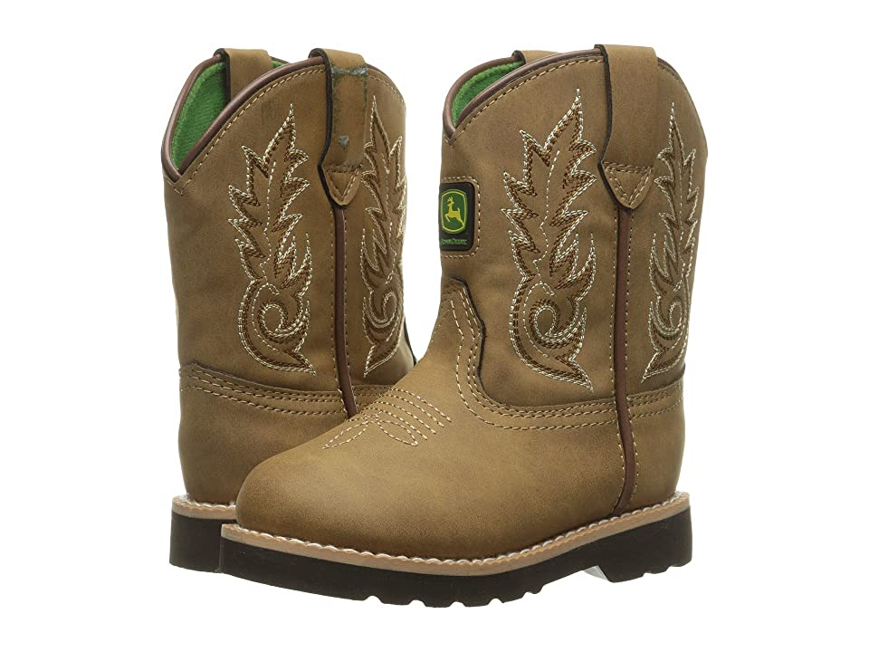 John Deere Everyday Round Toe (Toddler) (Tan) Men