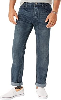 Adaptive Classic Straight Jeans w/ Magnetic Closures in Sunshine