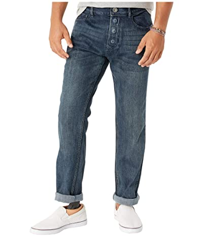 Seven7 Adaptive Adaptive Classic Straight Jeans w/ Magnetic Closures in Sunshine (Sunshine) Men
