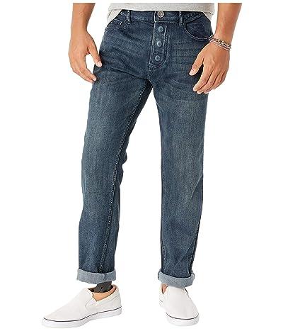 Seven7 Adaptive Adaptive Classic Straight Jeans w/ Magnetic Closures in Sunshine Men