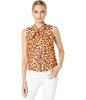 Kate Spade New York - Panthera Twist Neck Shell