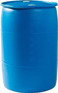 used blue barrels