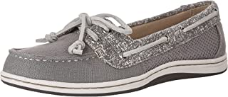 Sperry Top-Sider Firefish Canvas Boat Shoe Women 5 Grey