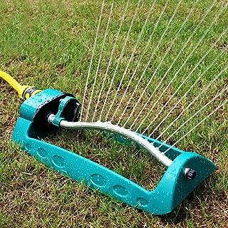 lzndeal 16 Trous gicleurs de Jardin oscillant en Plastique en Aluminium Tube arrosage de la pelouse Jardin arrosage