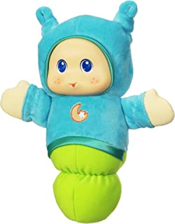 Playskool Favorites Lullaby Gloworm - Juguete de peluche, color azul, Azul, Verde