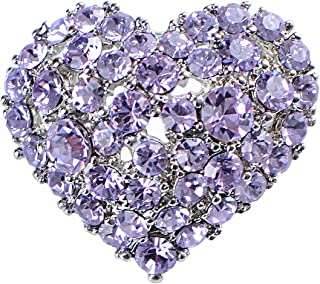 Best purple heart brooch Reviews