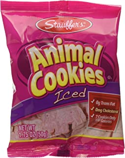 Stauffers Lightly Iced Animal Cracker Multi Pack, 1.75 Ounce (Pack of 6)