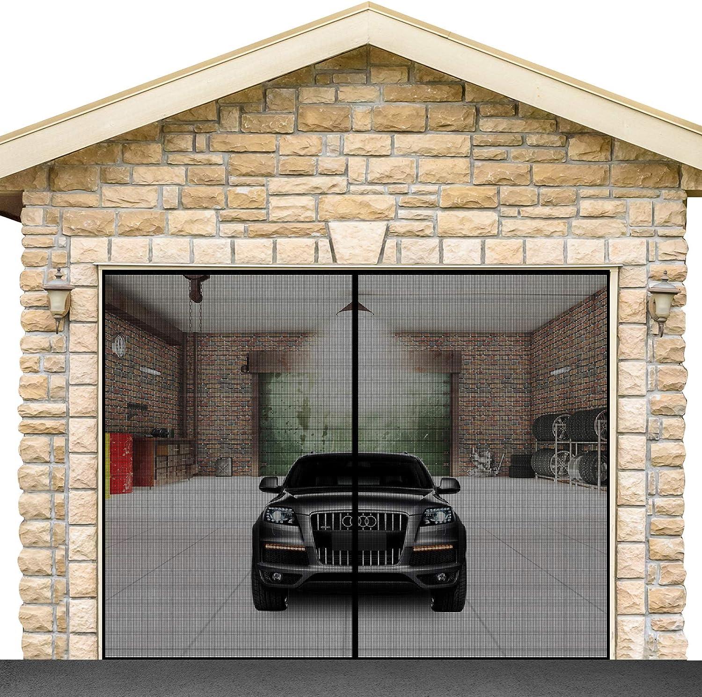 2021 new Garage Door Screen for 1 Doors High Direct store 8.3x7.15FT with car