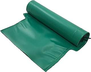 Frost King DE46 Automatic Plastic Drain Away Downspout Extender, Extends 4-Feet, Green