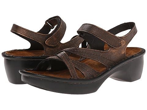 Copper Paris LeatherLinen Naot Madras Black LeatherMetal Leather LeatherBurnt vTpwwfqx