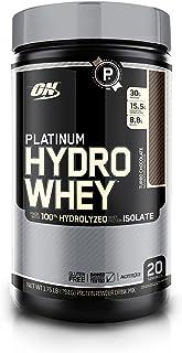 Optimum Nutrition Platinum Hydrowhey Protein Powder, 100% Hydrolyzed Whey Protein Isolate Powder, Flavor: Turbo Chocolate, 1.75 Pounds