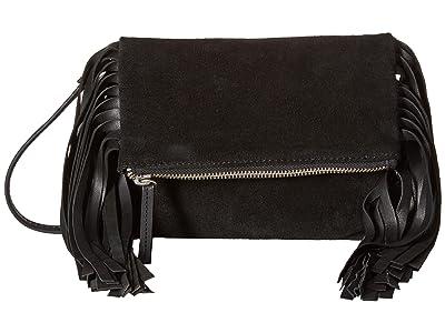 Scully Katherine Fringe Handbag (Black) Handbags