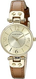 Anne Klein Women's 10/9442 Leather Strap Watch