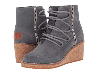 Pendleton Islegate Wedge (Steel Gray) Women