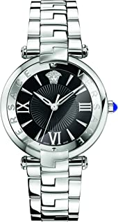 Versace Women's 'REVE' Swiss Quartz Stainless Steel Casual Watch, Color:Silver-Toned (Model: VAI040016)