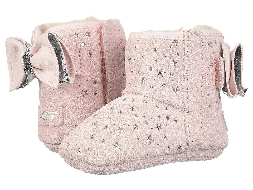 UGG Kids Jesse Bow II Stargirl Bootie (Infant/Toddler) (Baby Pink) Girls Shoes