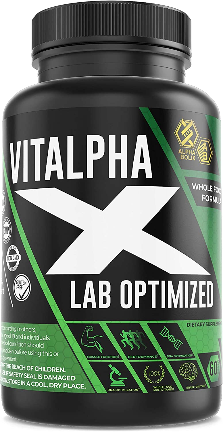 30 in 1 New Vitalpha-X Men's Whole Sale SALE% OFF A Day Food Multivitamins Cheap mail order sales –