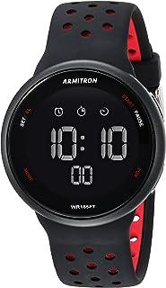 Unisex Digital Chronograph Silicone Strap Watch, 40/8423