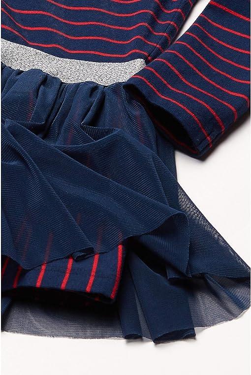 Navy/Red Striped