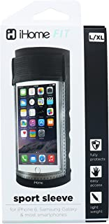 iHome | Sport Sleeve Large- Armband for iPhone 6 - Black - See More Colors