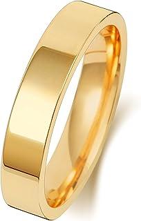 Anello Fede Nuziale Uomo/Donna 4mm in Oro giallo 18k (750) WJS1516118KY
