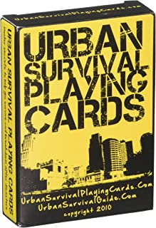 Urban Survival Playing Cards - These aren't simply playing cards...they're a powerful survival tool for you and your loved...