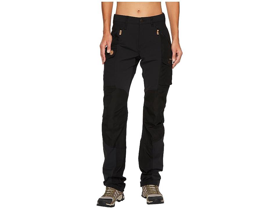 Fjallraven Nikka Curved Trousers (Black) Women