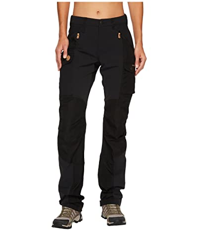 Fjallraven Nikka Curved Trousers (Black) Women