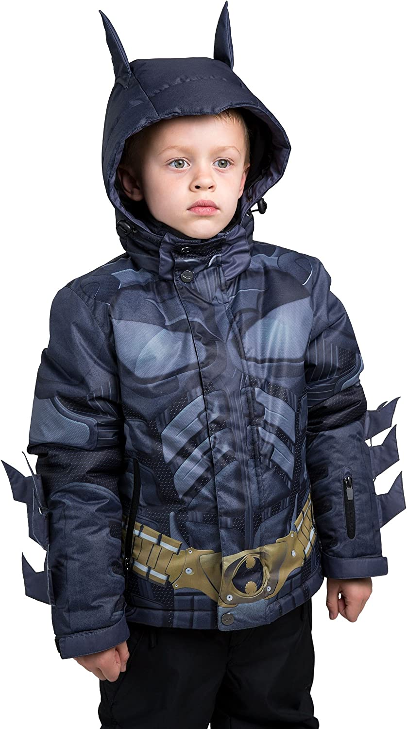 FUN.COM NEW before selling INC. Kids Batman Jacket Snow Knight Dark Inventory cleanup selling sale