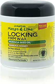 Jamaican Mango & Lime Resistant Formula Locking Firm Wax, 180ml