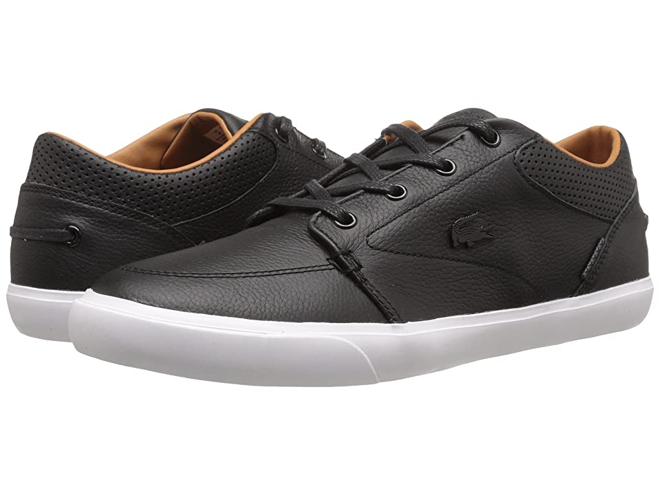 Lacoste Bayliss Vulc Prm (Black/Black) Men