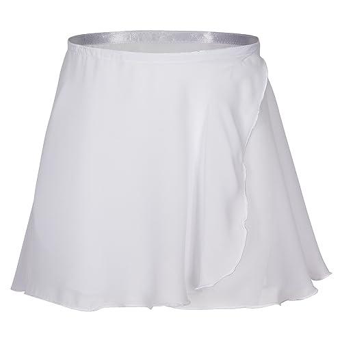 tanzmuster jupe portefeuille Emma en mousseline pour enfants - danse  classique - rose 5630d6bf13b