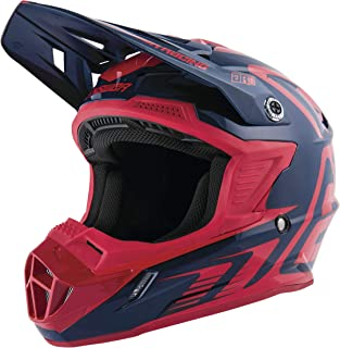 Answer 2019 Women's AR1 Helmet - Edge (Large) (Midnight/RED)