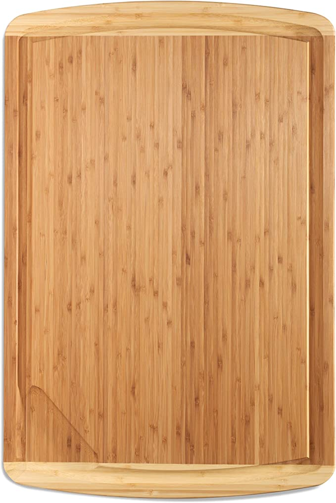 Greener Chef's Extra Large Wood Cutting Board - Lightweight
