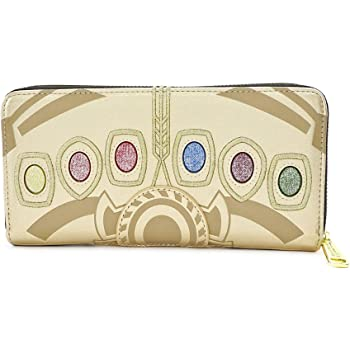 Thanos Zipper Coin Purse Canvas Wallet Bag Change Purse Pouch Key Holder With Strap