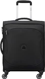 Delsey Paris 00324881000 Children's Softside Luggage, Black, 68 Centimeters