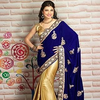 Half & Half Sarees Designs For Indian Girls Vol 1