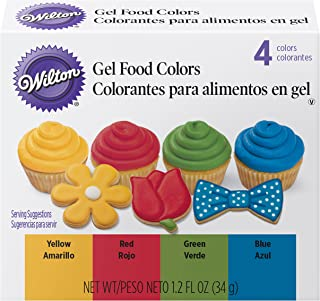 Wilton Primary Icing Colors, 4-Piece - Gel Icing Colors