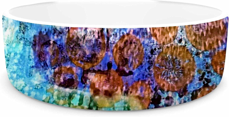KESS InHouse Alyzen Moonshadow ARCANE 2  Purple bluee Pet Bowl, 7