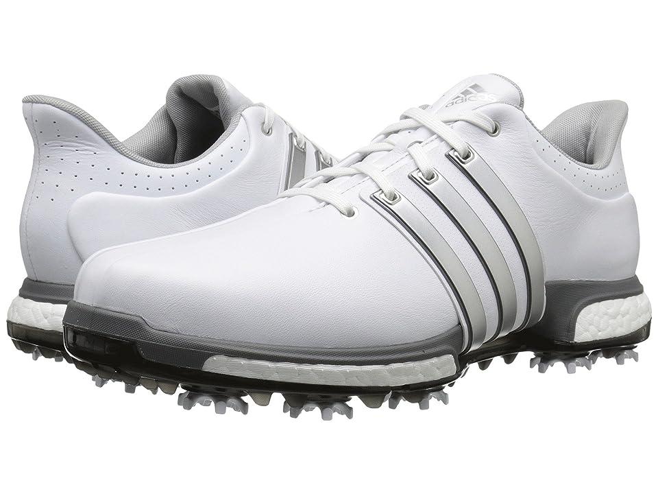 adidas Golf Tour360 (Ftwr White/Silver Metallic/Dark Silver Metallic) Men's Golf Shoes