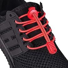 "HYFAM Reflective Elastic Rubber Shoelaces, 47""(120cm) No"